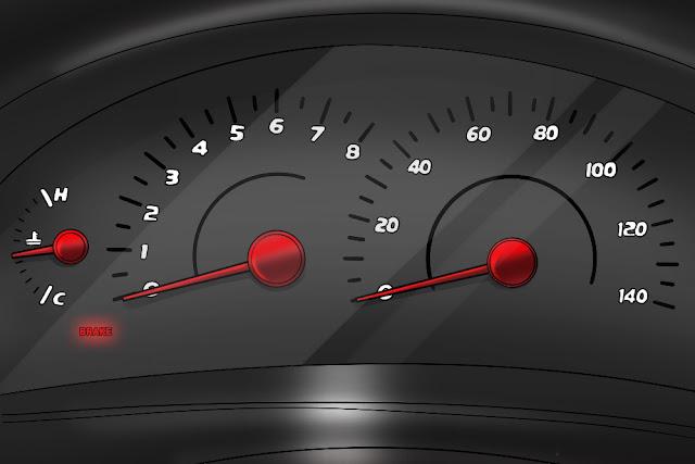 Comment réagir lorsque le témoin d'avertissement de frein est allumé