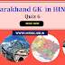 Uttarakhand GK in HINDI - Quiz 6