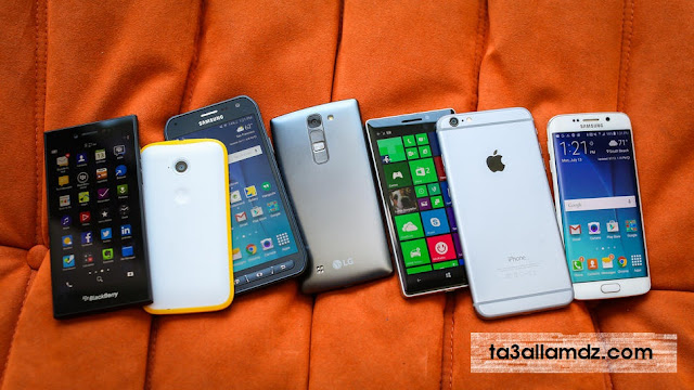 Rating smartphones in November 2015