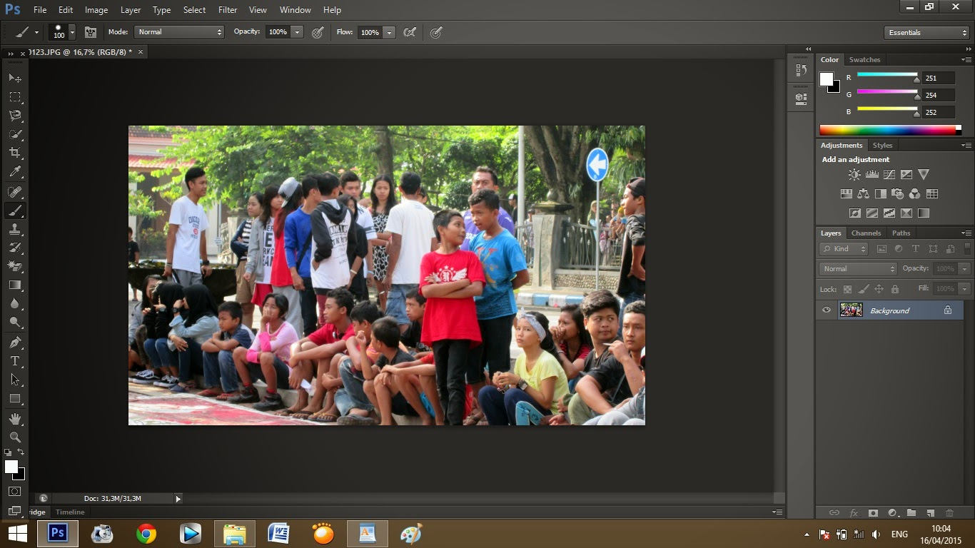 Cara mudah edit foto selective color di Photoshop - JarPage