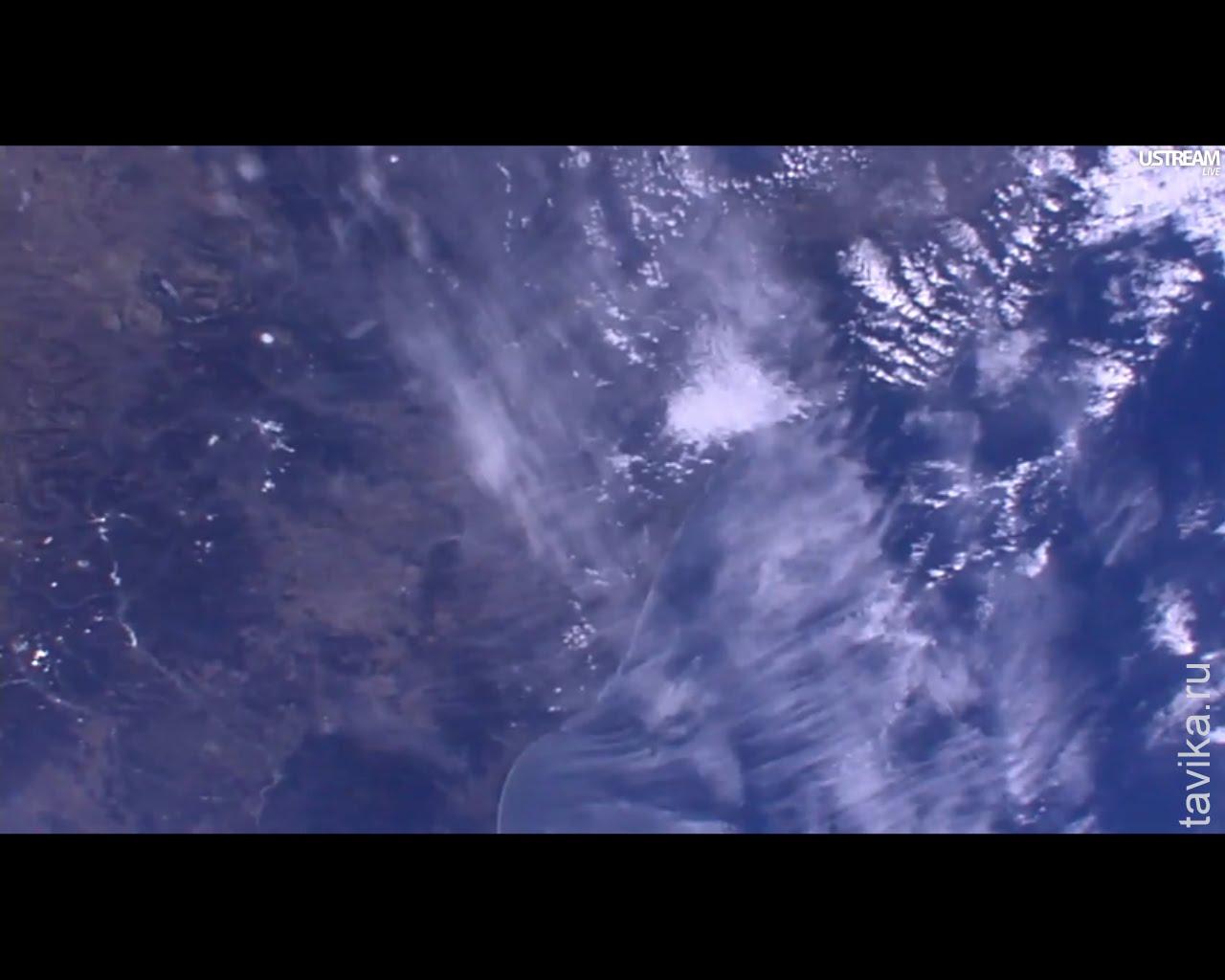 Снимки с вебкамеры на МКС
