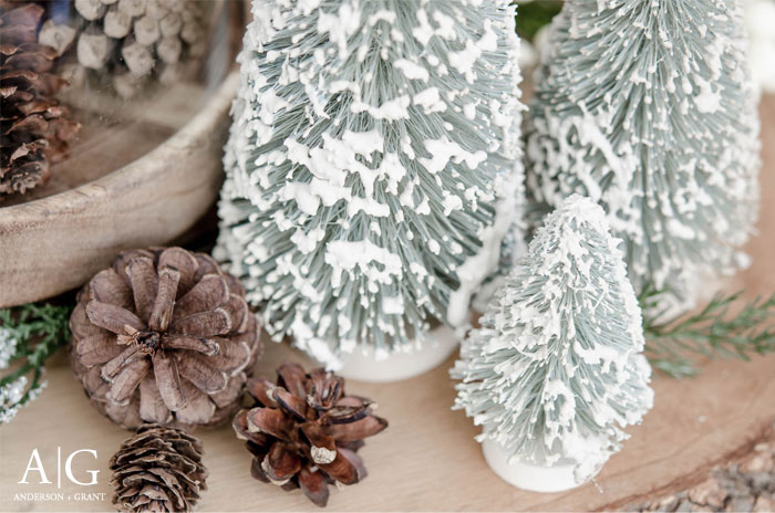 Rustic Decorating for Winter from anderson + grant