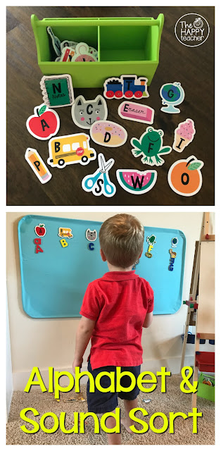 Easy activity for prek or kindergarten centers