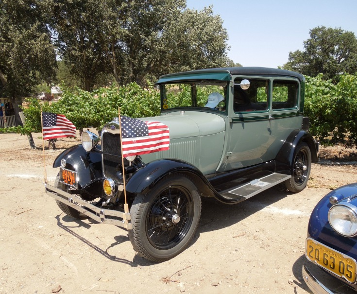 2019 Paso Robles and Templeton Wine Country Calendar: Classic Cars at Sculpterra Photo on July 4
