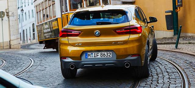 SUV-Coupé X2 BMW backview
