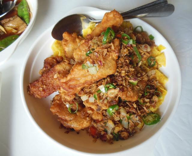 Parrot House Restaurant, Kensington, spare ribs
