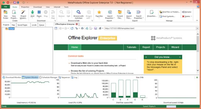 offline explorer enterprise pro