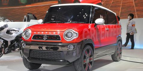 HOT! Suzuki Mau Boyong Mobil Crossover Kecil 600cc 'Hustler' ke Indonesia