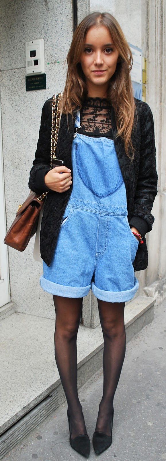 overalls outfit idea