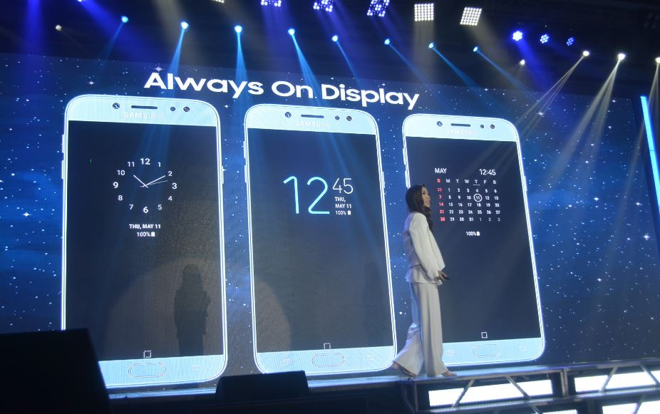 Samsung Galaxy J7 Pro Always ON