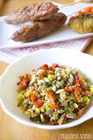 (salatka z quinoa i pesto