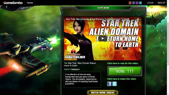 Star Trek Alien Domain Video Contest