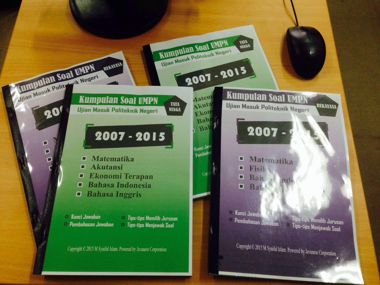 Download Soal Umpn Gelombang 2 Atau Ujian Mandiri Pnj Dokumen 471