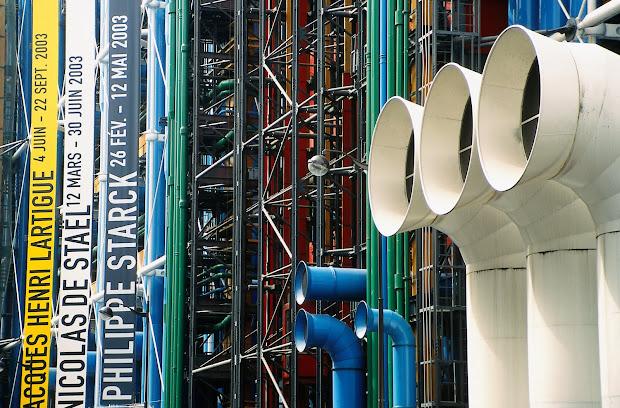 Nora Fm Centre Pompidou National Modern Art Museum Paris