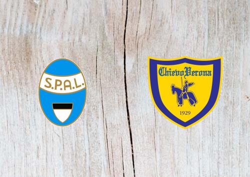 SPAL 2013 vs Chievo -  Highlights 16 December 2018
