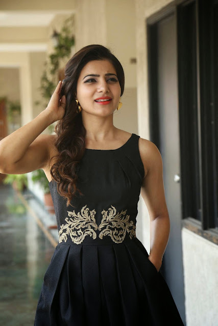 Samantha Ruth Prabhu in Western Wear At Son Of Satyamurthy Promotions