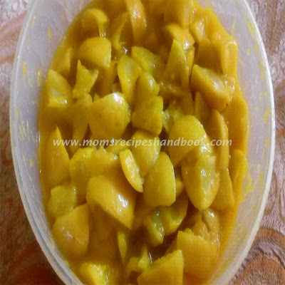 how to prepare nimmakaya pickle