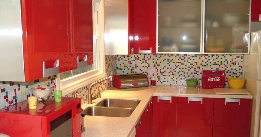 Desain Dapur Merah Hitam  22 gaya terbaru desain cafe warna merah desain cafi1 2
