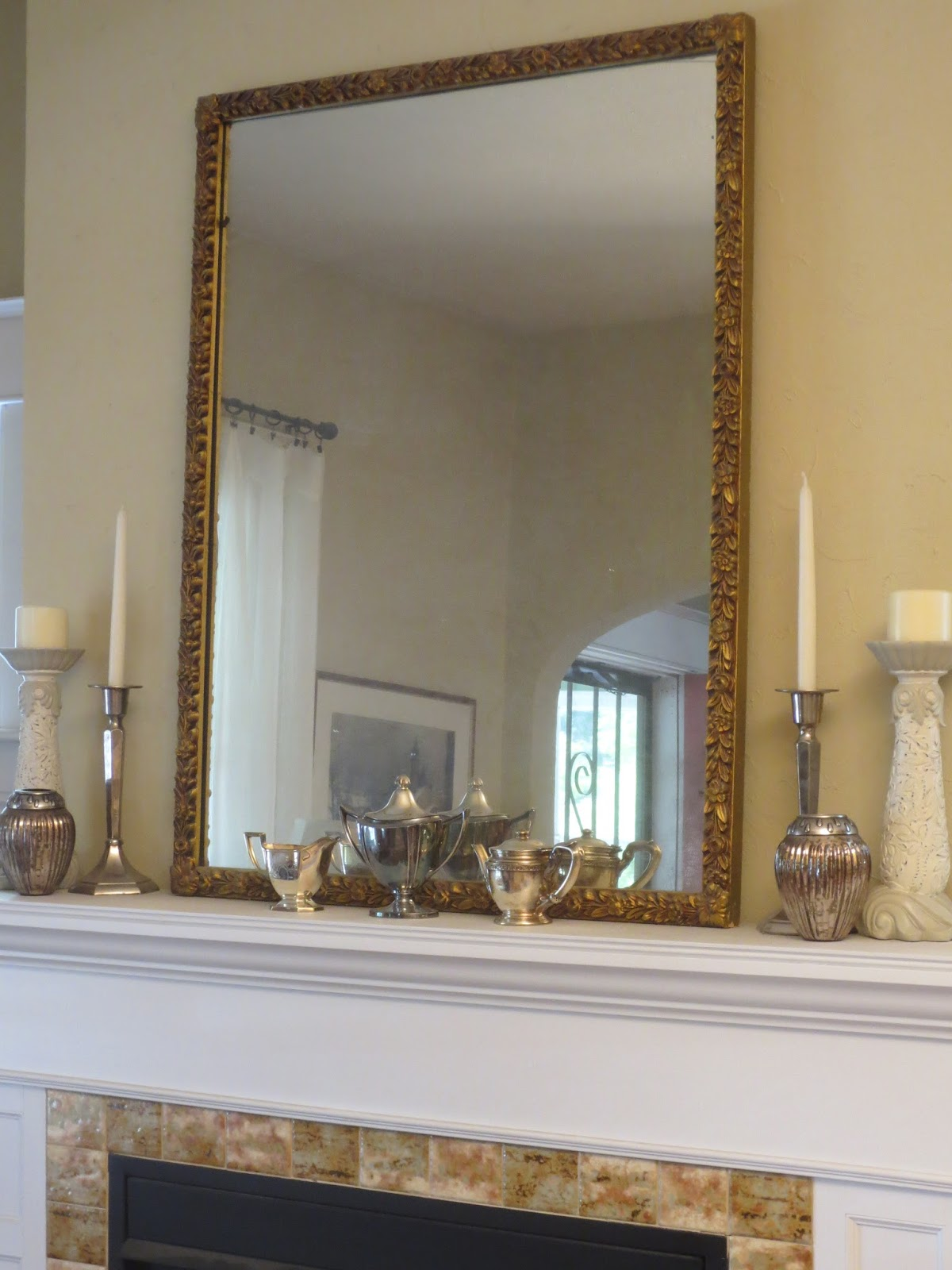 French Country Style from the Foot of the Rockies: Mirror