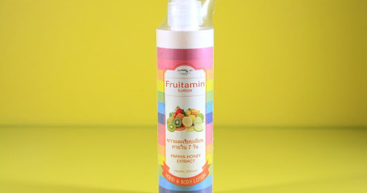 Fruitamin Lotion