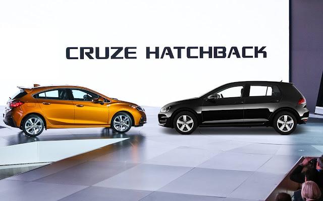 Novo Chevrolet Cruze 2017 x VW Golf