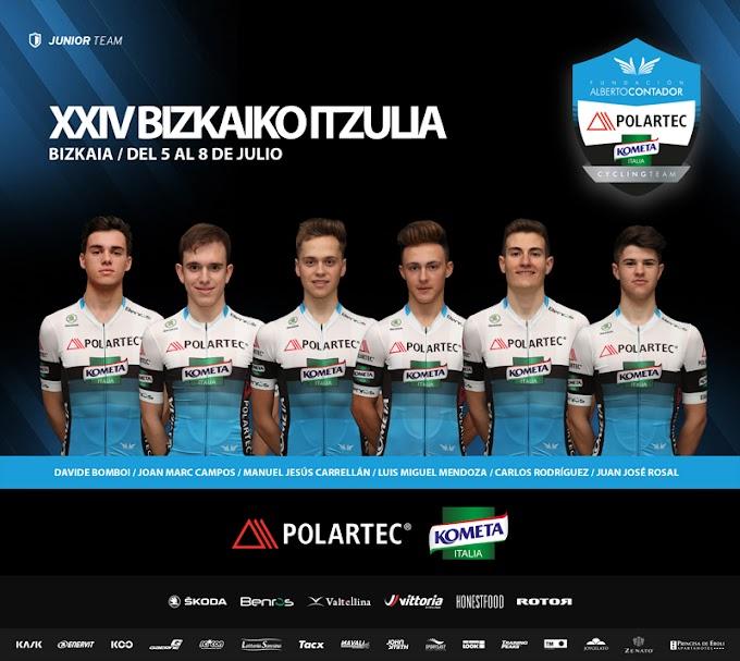 La Itzulia: llega la gran cita de la temporada júnior del Polartec-Kometa