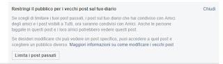 Limita Facebook