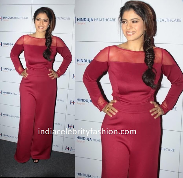 Kajol in Swatee Singh Label jumpsuit