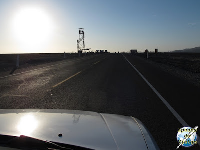 Torre para observar las líneas de Nazca