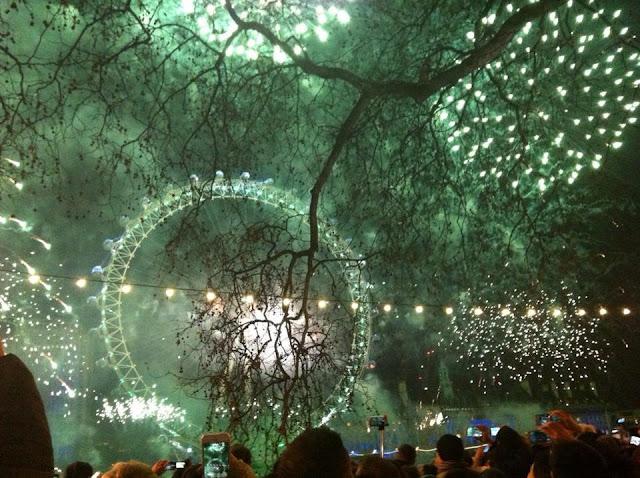 London NYE Fireworks