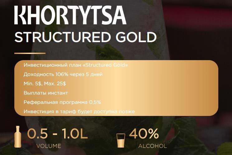 Инвестиционные планы Khortytsa Pro 3