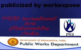 pwd recruitment 2018-2019 for civil engineers maharashtra