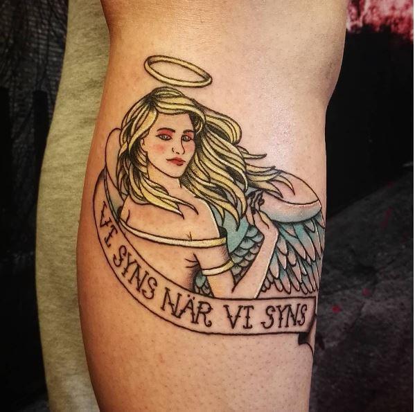 Angel halo Tattoos