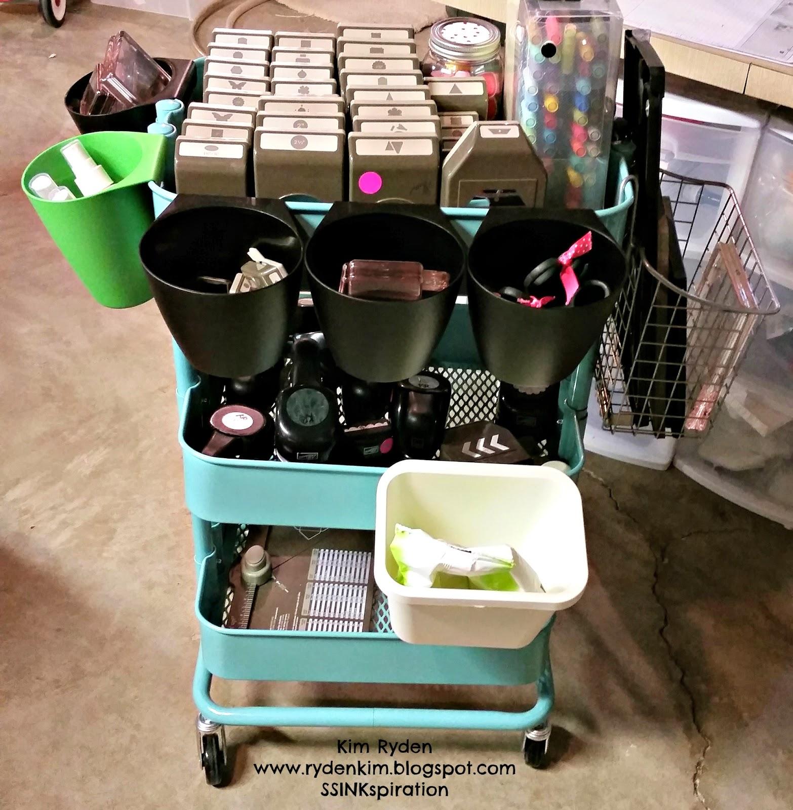 Stamping With Kim: Storage Solutions: Raskog