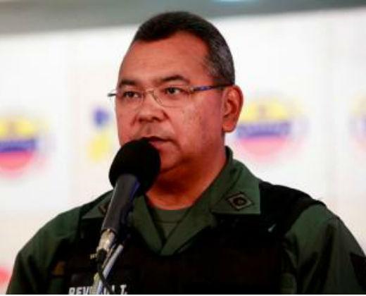 EEUU acusa a Reverol y Molina de participar en trama de narcotráfico