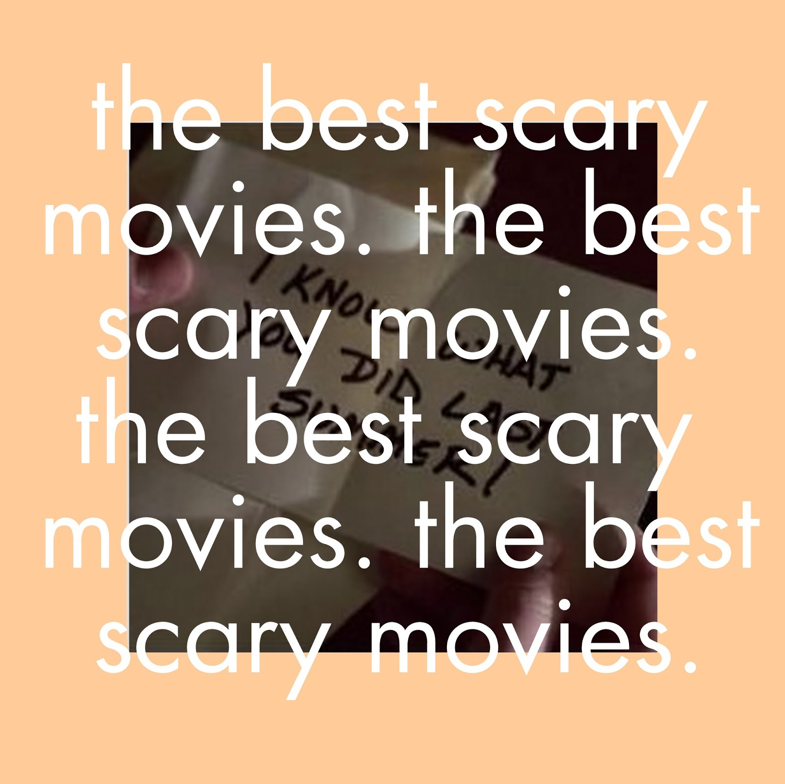 best horror movies, best scary movies, 90s scary movies, 90's horror films