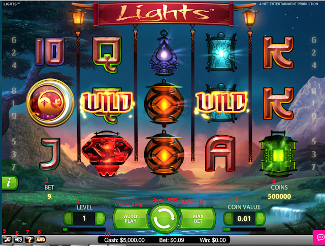 slot game- lights