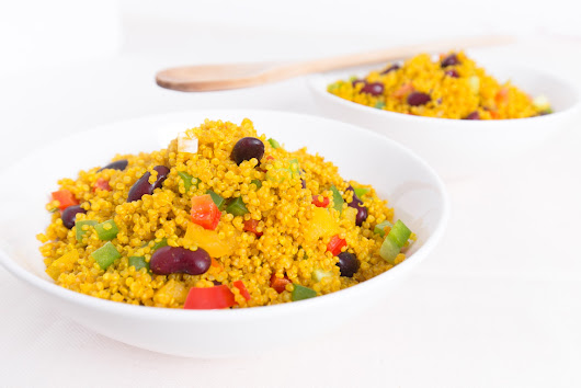 All-Star Chef Classic Global Grand Tasting + Turmeric Infused Confetti Quinoa Salad Recipe