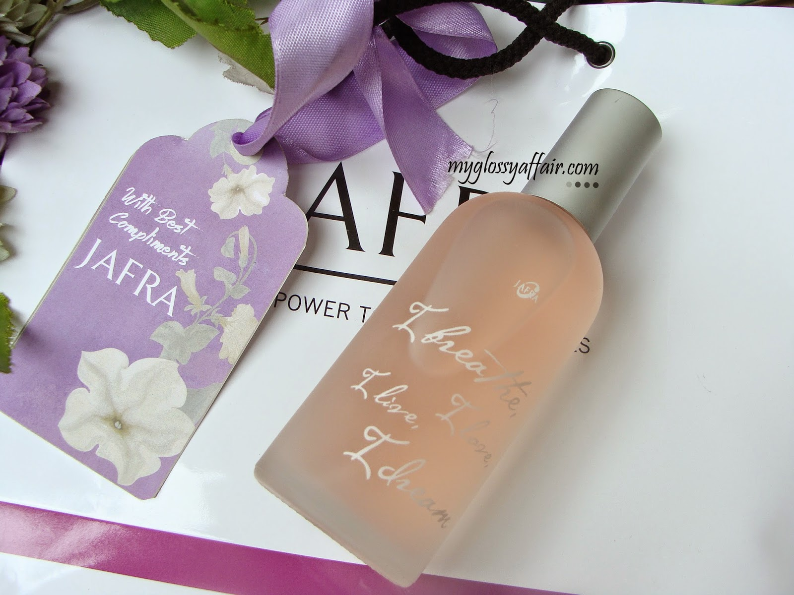 Jafra Fragrance - I Breathe, I Love, I Live, I Dream - Review