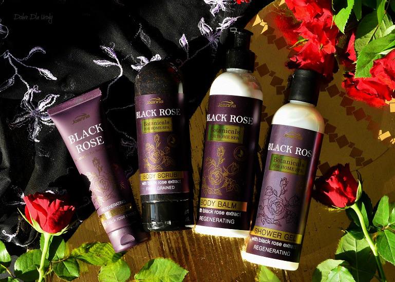 Joanna Botanicals for Home Spa kosmetyki z ekstraktem z Czarnej Róży recenzja