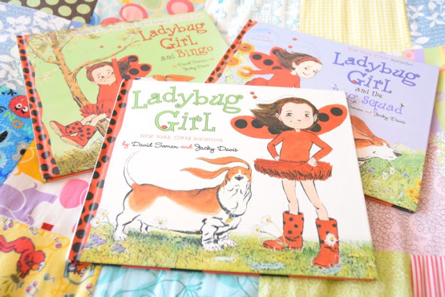Ladybug Girl Series, part of March Reading Roundup