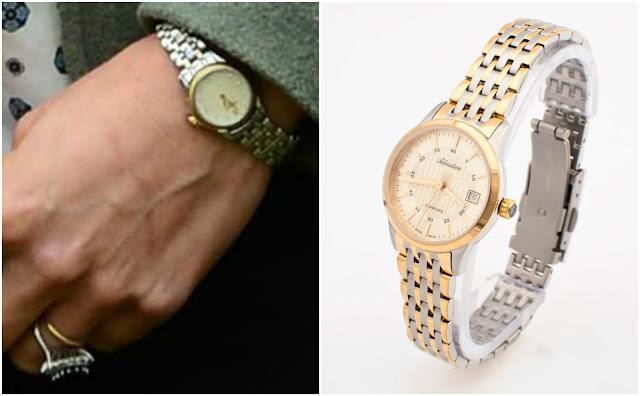 Zegarek księżnej Kate złoto srebrny