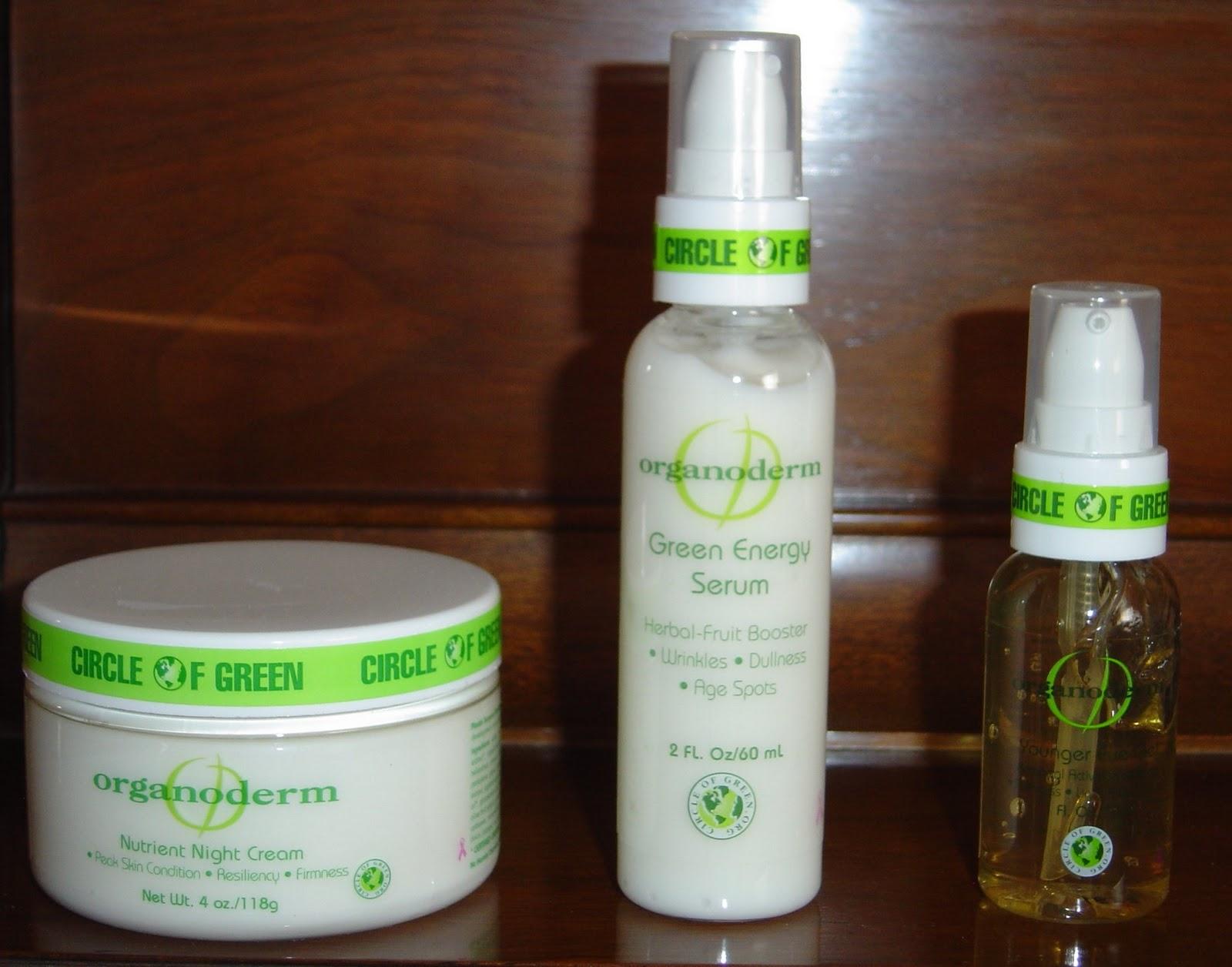 Organoderm Skin Care trio
