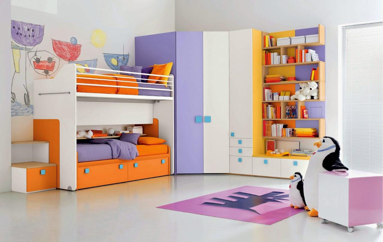 60 Desain Kamar Tidur Anak Perempuan Ukuran Kecil Dengan Desain