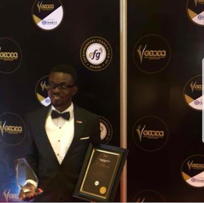 Zylofon Media CEO, Nana Appiah Mensah Wins Best Business Executive Of The Year Award