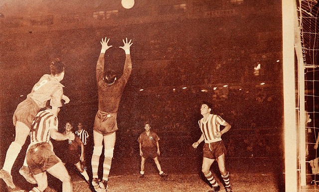 Paraguay y Chile en Campeonato Sudamericano de 1953