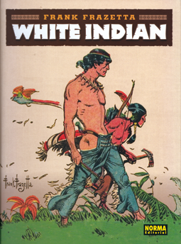 White Indian de Frank Frazetta, edita Norma Editorial