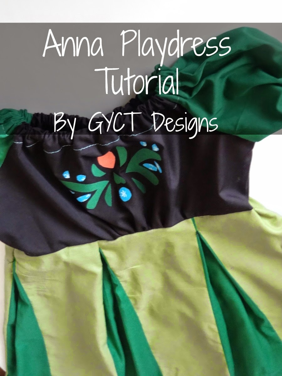 DIY Anna Coronation Dress Tutorial by GYCT & DIY Anna Coronation Dress Tutorial - GYCT Designs