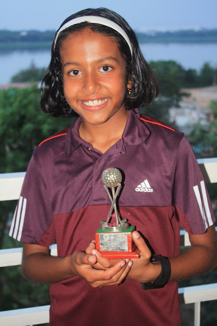 Greenwood High student shines at the All India Feeder Tour Golf tournament at Kolkata