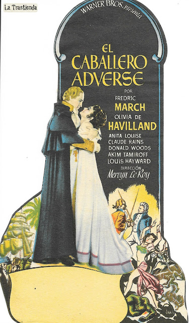 El Caballero Adverse - Programa de mano - Fredric March - Olivia de Havilland